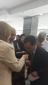 Visited by Menteri Tan Sri Shafie Afdal