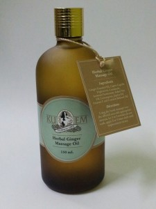 HERBAL GINGER MASSAAGE OIL 150ml